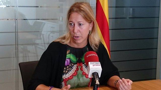 La vicepresidenta Neus Munté