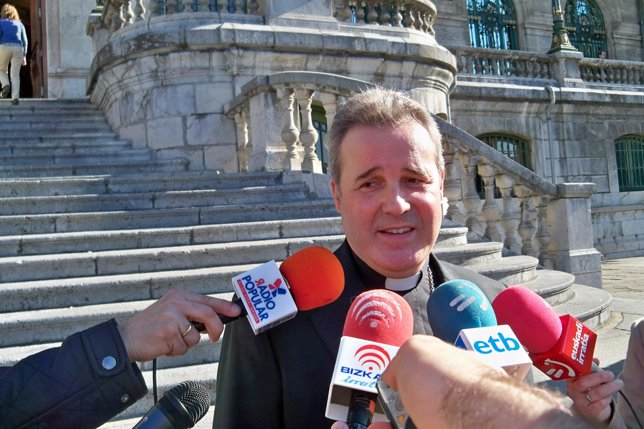El Obispo de Bilbao, Mario Iceta