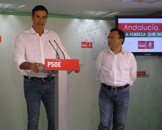 Pedro Sánchez en Málaga.