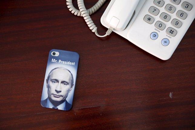 Merchandising de Putin en Rusia