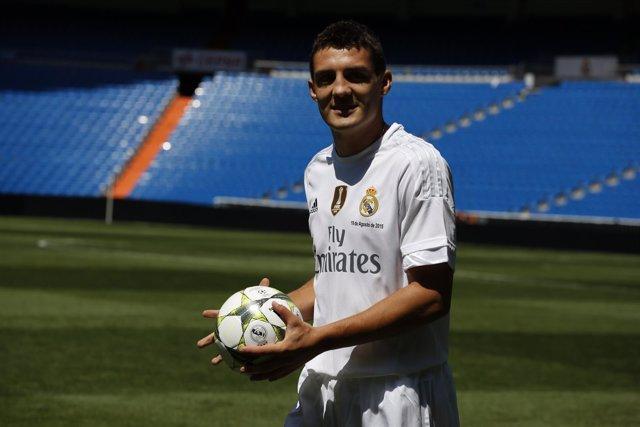 Mateo Kovacic, presentado en el Real Madrid