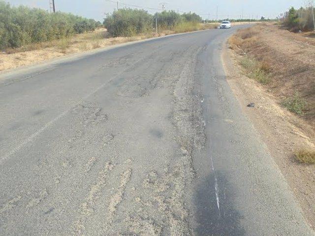 La actuación en la carretera RM-F22