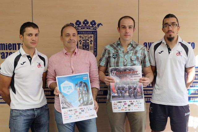 David García, Luis Marquina, David Miguel y Jorge Morales