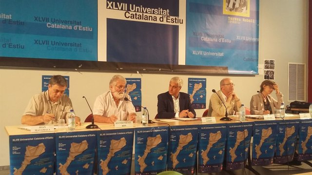 El conseller G.Gordó, en la Uce