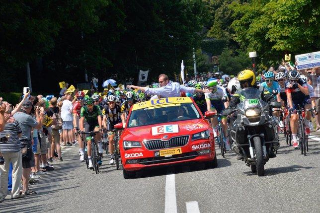 Skoda, patrocinador de la Vuelta a España