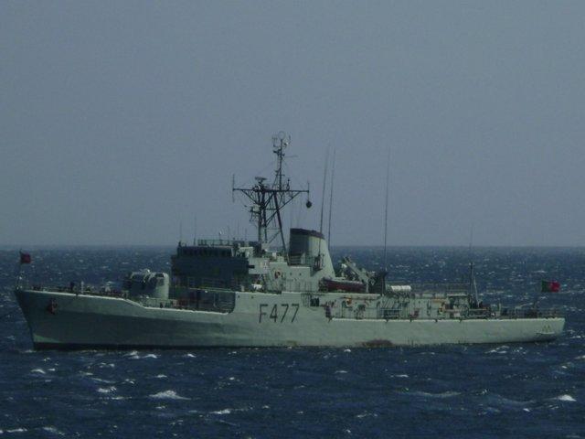 Corbeta 'General Pereira d'Eça' de la Marina portuguesa