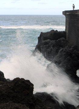 Temporal de vientos costeros