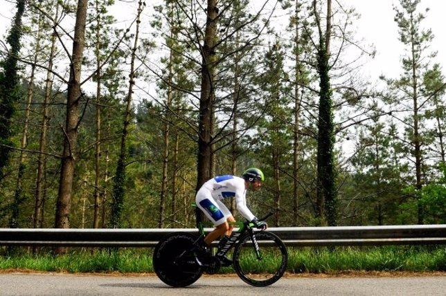 Ciclista en Vuelta a España