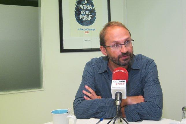 El coordinador nacional de ICV, Joan Herrera