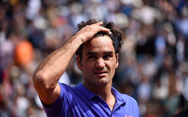 Roger Federer, roland garros 2015.