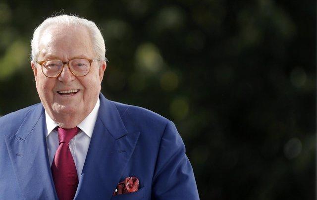 El fundador del Frente Nacional Jean Marie Le Pen