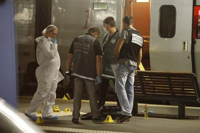 tiroteo registrado este viernes en un tren que conecta Ámsterdam con París