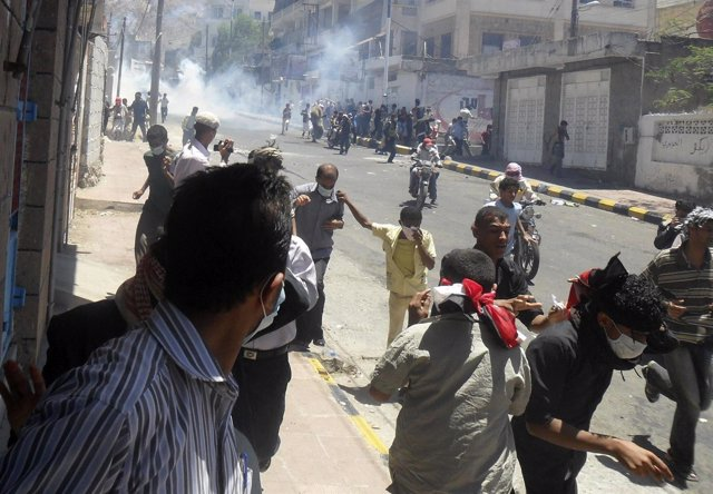 Enfrentamientos en la ciudad yemení de Taiz