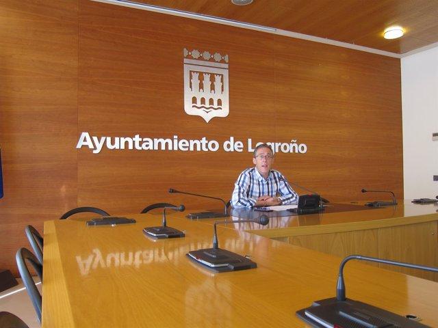 Sainz Yangüela en rueda de prensa