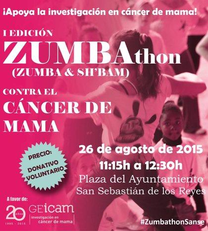'ZUMBAthon solidario' para investigar el cáncer de mama