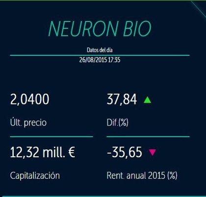 Neuron Bio sube en Bolsa tras patentar su compuesto neuroprotector en Japón