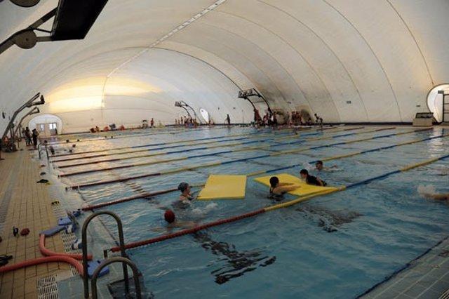 La piscina del Tiro de Línea antes del accidente.