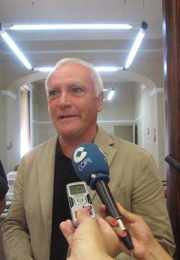 Girona atiende a los medios tras su reunión con Alcaraz