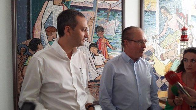 César Sánchez a la izquierda en imagen de archivo