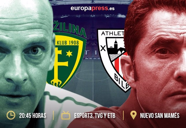 Athletic de Bilbao-Zilina partido de vuelta  fase previa de la Europa League