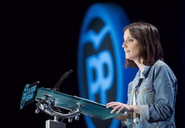 Andrea Levy, en la Conferencia Política del PP