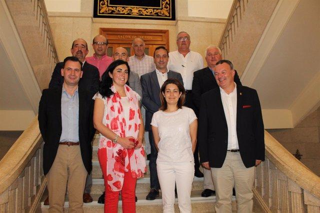 Nuevo gobierno de la Diputación Lugo, presidido por Elena Candia