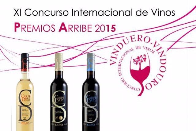 La bodega Tierras de Mollina recibe tres medallas Premios Arribe 2015