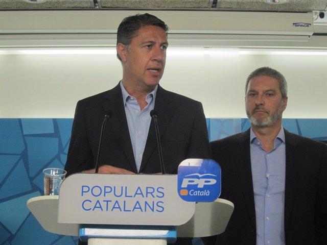 Xavier García Albiol (PP) Josep Ramon Bosch (SCC)