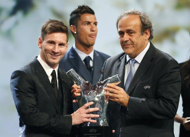 Messi, nombrado Mejor Jugador de Europa para la UEFA en la temporada 2014-15