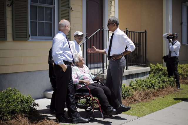 Obama Nueva Orleans, 10 años del Katrina