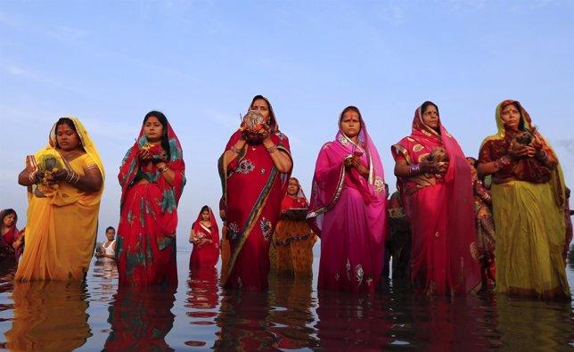 Mujeres hindúes en India