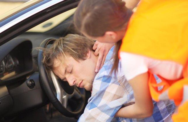 Accidente de coche, emergencias