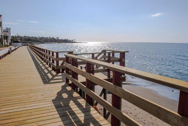 Sendero litoral Estepona