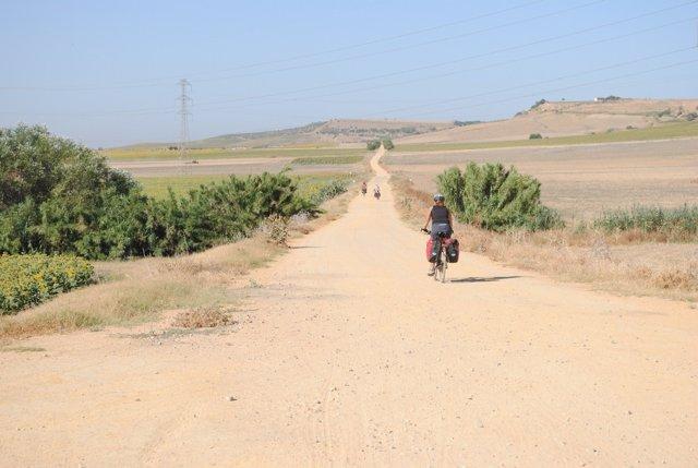Vía verde de Los Alcores.