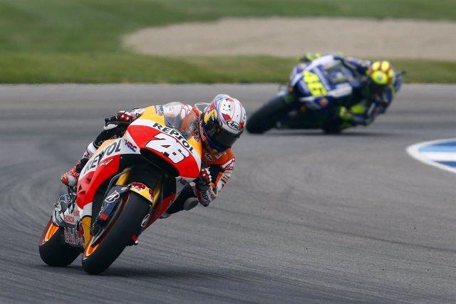 Dani Pedrosa, MotoGP - GP de Indianápolis. Carrera