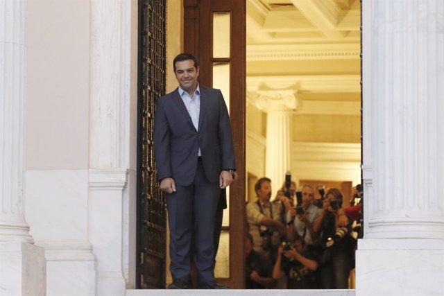 El dimitido primer ministro griego Alexis Tsipras