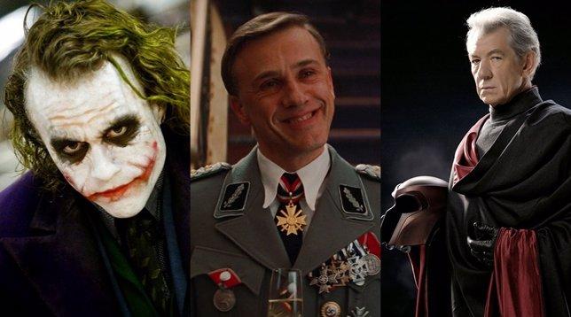 Imágenes del Joker, Hans Landa y Magneto