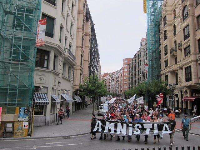 Manifestación por la amnistía