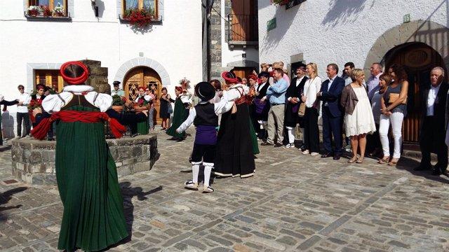 XLV Día de Exaltación del Traje Tradicional Ansotano.