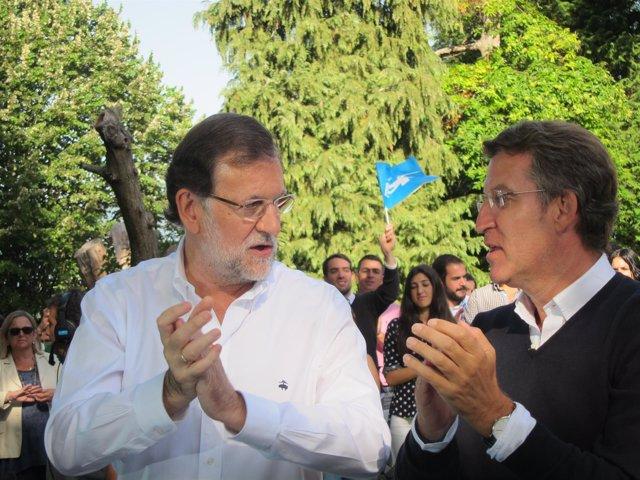 El presidente del Gobierno y el de la Xunta