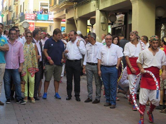 FOTO Ramon Espadaler Visita Vilafranca Del
