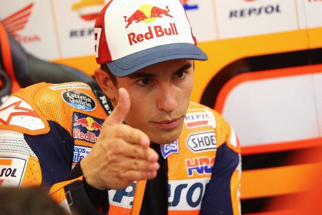 El piloto español Marc Márquez (Repsol Honda)