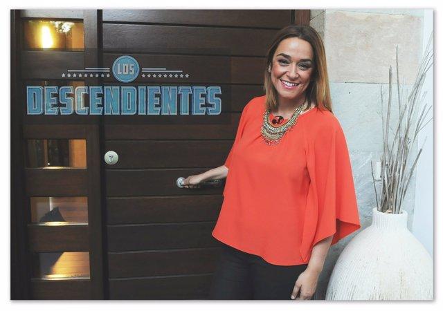 Toñi Moreno, presentadora de 'Los Descendientes'