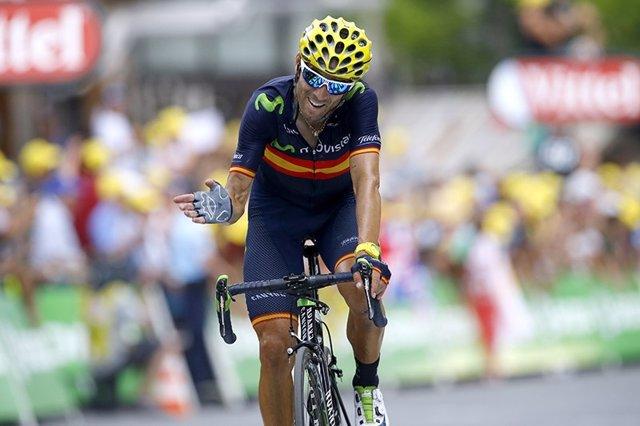 Alejandro Valverde, Tour de Francia 2015
