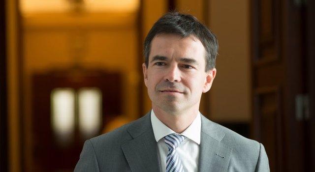 El portavoz de Unión, Progreso y Democracia (UPyD), Andrés Herzog