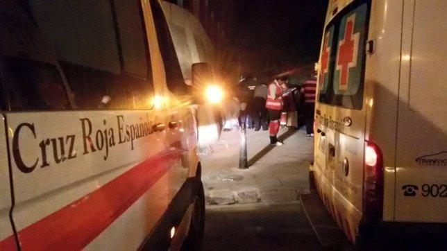 Cruz Roja atiende esta noche a inmigrantes en Ceuta