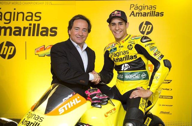 Luis Salom con Sito Pons