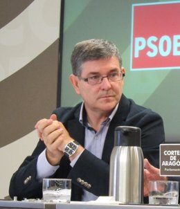 El secretario general del PSOE Teruel, Vicente Guillén