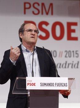 Ángel Gabilondo en la inauguración del congreso del PSM