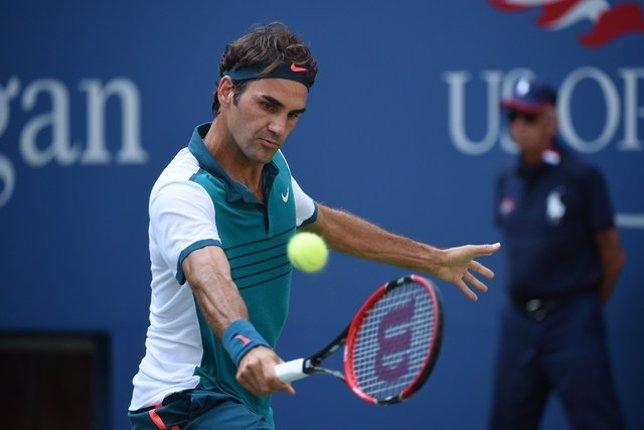 Roger Federer en el US Open